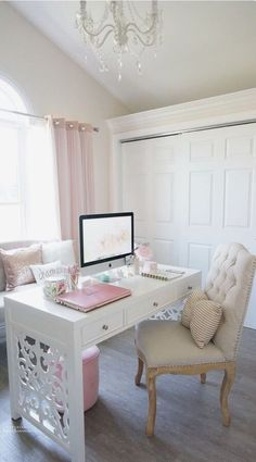 girly, home, and room image