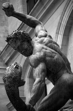 Hercules fighting Achelous Francoise-Joseph Bosio, 1824Musée du Louvre, Parisbronze