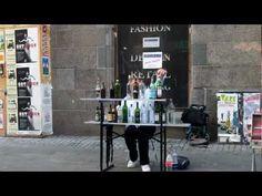 Mozart - Eine Kleine Nachtmusik with bottles