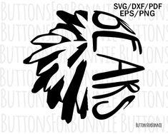 Lions svg, cheer svg, pompom svg, cut file, sports svg