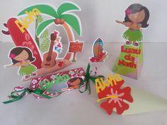 kit festa havaiana