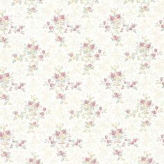 a s creation tapete 649645 creme rosa gr n streifen. Black Bedroom Furniture Sets. Home Design Ideas