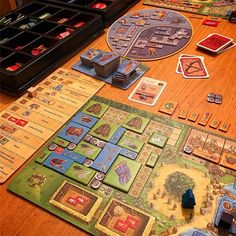 A Feast for Odin! Satisfying tetris tile placement they will all fit!