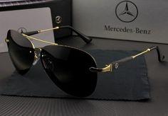 8b09d67ff4f72 Óculos de Sol Polarizado Aço Inox Mercedes Benz®  Mb270 R 122,90 em 8x de…