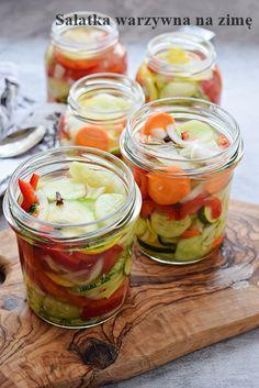 Zucchini, Preserves, Salads, Apple, Diet, Vegetables, Recipes, Food, Food Ideas
