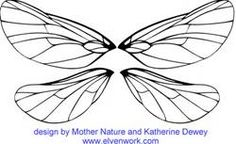 Fairy Wings Template - Bing Images