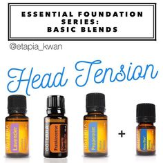 My essential foundation series is a great way to learn how to use DoTERRA's top 10 oils as part of your daily routine. These oils are my go-to for temporary muscle and head tension. I apply a drop of Lavender and Peppermint diluted with fractionated coconut oil (FCO) to my fingertips and massage into my temples. I place a drop of Frankincense on my thumb and hold it on the roof of my mouth for about 5-10 seconds. Then, I massage in a drop of Deep Blue or Frankincense with a few drops of FCO…