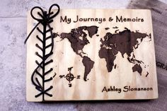 Unique Wedding Guest Book, Rustic World Map Wedding Guest Book, Unique Guest Book, Rustic Wedding Unique Rustic Guest Book, Rustic Wedding