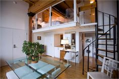 Nyc loft apartments dream new york apartment 1 bedroom rental in Loft Room, Bedroom Loft, Loft Beds, Adult Loft Bed, Beds For Small Spaces, Small Rooms, Loft Stil, Small Room Bedroom, Bedroom Ideas