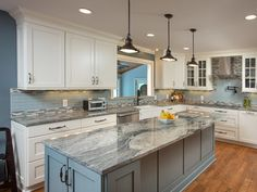The cost of countertops heavily depend on the material. See all bathroom & kitchen countertop prices. Then, use ImproveNet to find reputable countertop contractors near you. Best Flooring For Kitchen, Kitchen Design Small, Kitchen Flooring, Kitchen Design Gallery, Kitchen Remodel, Kitchen Decor, Interior Design Kitchen, Home Kitchens, Kitchen Renovation