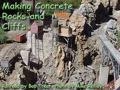 Making Concrete Rocks and Cliffs