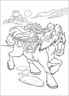 coloring page Brave - Brave