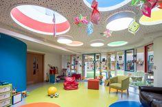 Keech Hospice Family Room - KKE Design