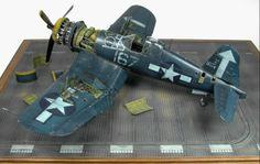 Diorama Corsair F-4U 1