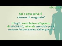14 proprietà del cloruro di magnesio | INNATIA.IT - YouTube