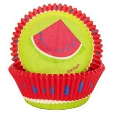 Summer Cupcake Liners by Wilton Watermelon Design