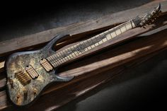 Skervesen Guitar Pics, Guitar Amp, Cool Guitar, Bass Guitars, Electric Guitars, Beautiful Guitars, Guitar Design, Badass, Wicked
