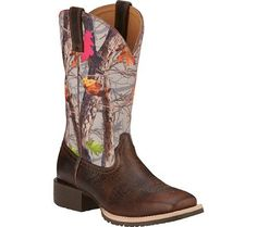 Ariat Women's Hybrid Rancher Western Boot ** Wow! I love this. Check it out now! : Women's cowboy boots