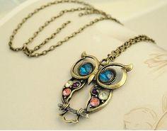 owl jewelry rocks