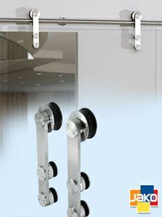 Puerta corrediza mall del este medell n 2013 for Sistema para puertas corredizas