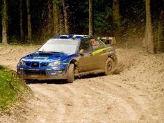 Subarus look good dirty.