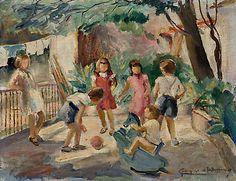 Brincadeira de Criança, de Georgina de Albuquerque (c. 1950)