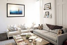 Jesse's Modern Bachelor Pad House Tour   Apartment Therapy. That couch!
