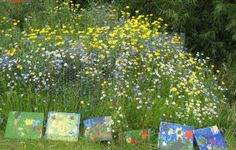 Impressionist themed garden - plant a garden to be painted! For more theme ideas, see this Green Desk post.