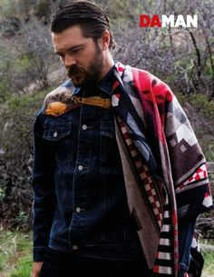 Charlie Weber (from How to get away with murder) for Da Man Shoot! www.wmfeed.me