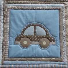 MyWay: Môj dom môj hrad ... môj druhý... Baby Boy Quilt Patterns, Baby Girl Quilts, Girls Quilts, Baby Applique, Applique Quilts, Bobble Stitch Crochet, Baby Barn, Cat Quilt, Baby Sewing