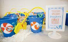 Splish, Splash! {Creative Pool Party First Birthday}