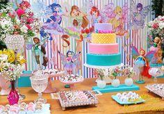 decoração club winx