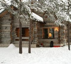 :D ❤️Rustic log cabin. My dream home! No neighbors, no traffic - just the sound of quietness & peacefulness! Snow Cabin, Winter Cabin, Cozy Cabin, Cozy Winter, Cozy Nook, Winter Snow, Cozy House, Log Cabin Homes, Log Cabins