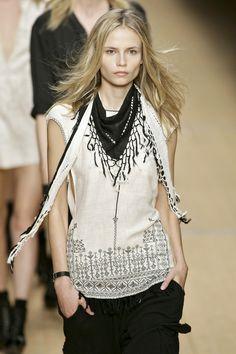 Isabel Marant at Paris Fashion Week Spring 2008 - StyleBistro
