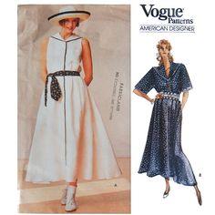 Vogue Ralph Lauren Sailor Dress Sewing Pattern  by SheFindsVintage