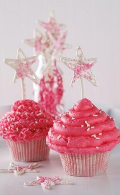 pink + stars = my fav things