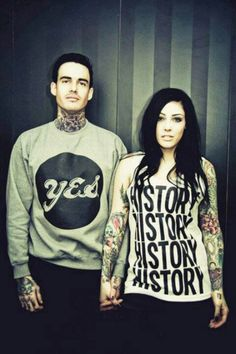 Tattoo couples are beautiful