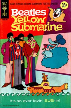 One of the original Yellow Submarine comics, have it in pristine condition in my Beatles room...super cool! :)