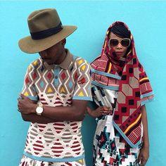 Xhosa : Triangles; lines; circles; squares; rectangles; tertis  || via Instagram at-designinstitute @maxhosa || also see www.design.sabs.co.za/heritage-maxhosa-laduma-sa-designer-taking-world-storm