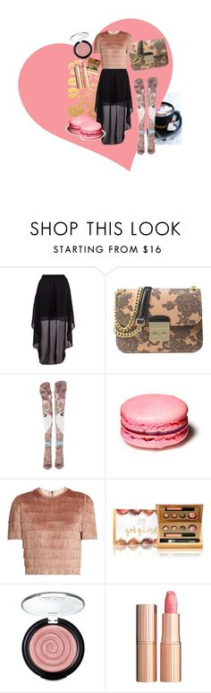 """happy valentine's!!!"" by lexiitaly ❤ liked on Polyvore featuring Michael Kors, Tom Ford, Raey, Laura Geller and Charlotte Tilbury"