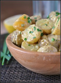 Baby Potato Salad | Prevention RD (161 cal per serving)