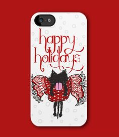 """""""Scarf and Kitten (Happy Holidays)"""" iPhone Case! #kitten #Cat #Holiday #Christmas #iPhone #Case"""