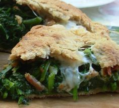 From Kirsten's Kitchen to Yours: Spinach Scacciata - A Sicilian Family Heirloom