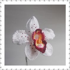 Ravelry: Orchid B pattern by Claudia Giardina @Chas Ellenburg Johnsey can u make me one???? pleaseeeee!!!