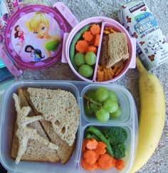 A sweet bento lunch for a sweet little girl.