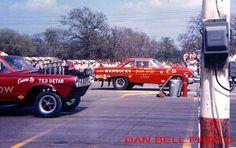 Gene Snow and Phil Bonner. Funny Car Drag Racing, Nhra Drag Racing, Funny Cars, Drag Bike, Green Valley, Drag Cars, Car Humor, Car Car, Fort Worth