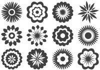 Assorted Flower Shapes