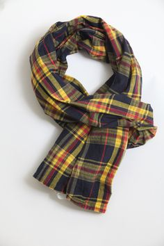 Engineered Garments Madras Plaid Scarf
