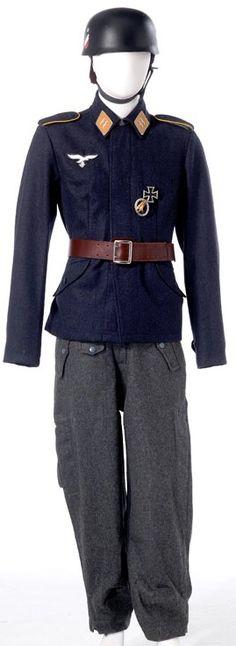 Fallschirmjager, uniform.