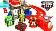 New Rescue Bots Chop & Chase Raceway Flip Racers with Optimus Prime & The Morbot. We also check out the Griffin Rock Construction Team Construction Bots Boulder Mortar and Salvage. The Griffin Rock Construction Team paves the way to the rescue!   More Fun Transformers Videos!  TRANSFORMERS RESCUE BOTS TOYS OPTIMUS PRIME HIGH TIDE CHASE CHIEF BURNS GRIFFIN ROCK POLICE STATION - https://youtu.be/aASFpMUkJ0Q  TRANSFORMERS RESCUE BOTS DEEP WATER RESCUE HIGH TIDE ROBOT TOYS…